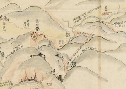 4_敦賀・琵琶湖間運河計画図」(慶応三年)五月.jpg